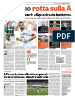 La Gazzetta dello Sport 24-08-2017 - Serie B - Pag.1