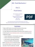 Dr. Cüneyt Sert Fluid Statics
