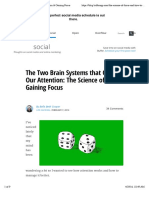 The Brain Science of Controlling Our Attention & Gaining Focus