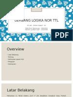 Gerbang Logika NOR TTL Final