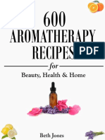 Beth Jones-600 Aromatherapy Recipes for Beauty, Health & Home-CreateSpace Independent Publishing Platform (2014)
