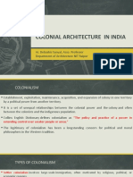 Colonial Arch and Modernism in India