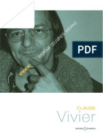 Claude Vivier Brochure