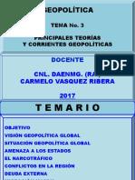 Principales Teorías y Corrientes Geopol. Geo. 03