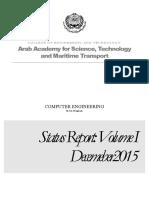 0- College Status Report Volume i Mar 2016