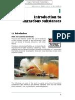 Hazardous substances in refineries