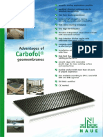 Brochure - Advantages of CARBOFOL Geomembranes