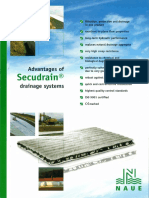 Brochure - Advantages of SECUDRAIN Drainage Systems