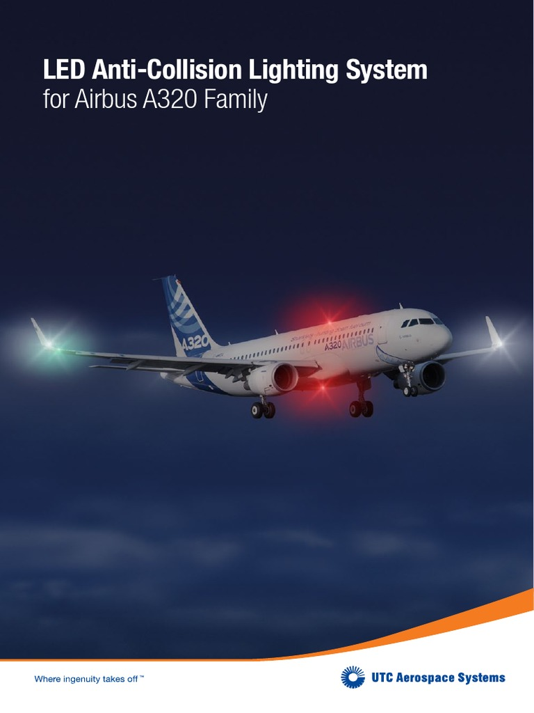 Marvelous 06_0010 LED Anti Collision Lighting System A320 | Light Emitting Diode |  Power Supply Good Ideas