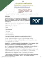 BRASIL Decreto Nº 2829-98