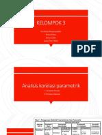 Analisis korelasi parametrik