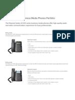 Business Media Phone Portfolio Quick Reference Guide Enus