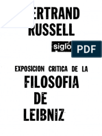 Russell, Bertrand - Exposición Crítica de La Filosofía de Leibniz.pdf
