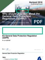 Horizont 2016_HPE_Robert Lejnart_ Data Protection GDPR
