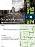 Real Estate Transactions - Cluj-Napoca, 2016