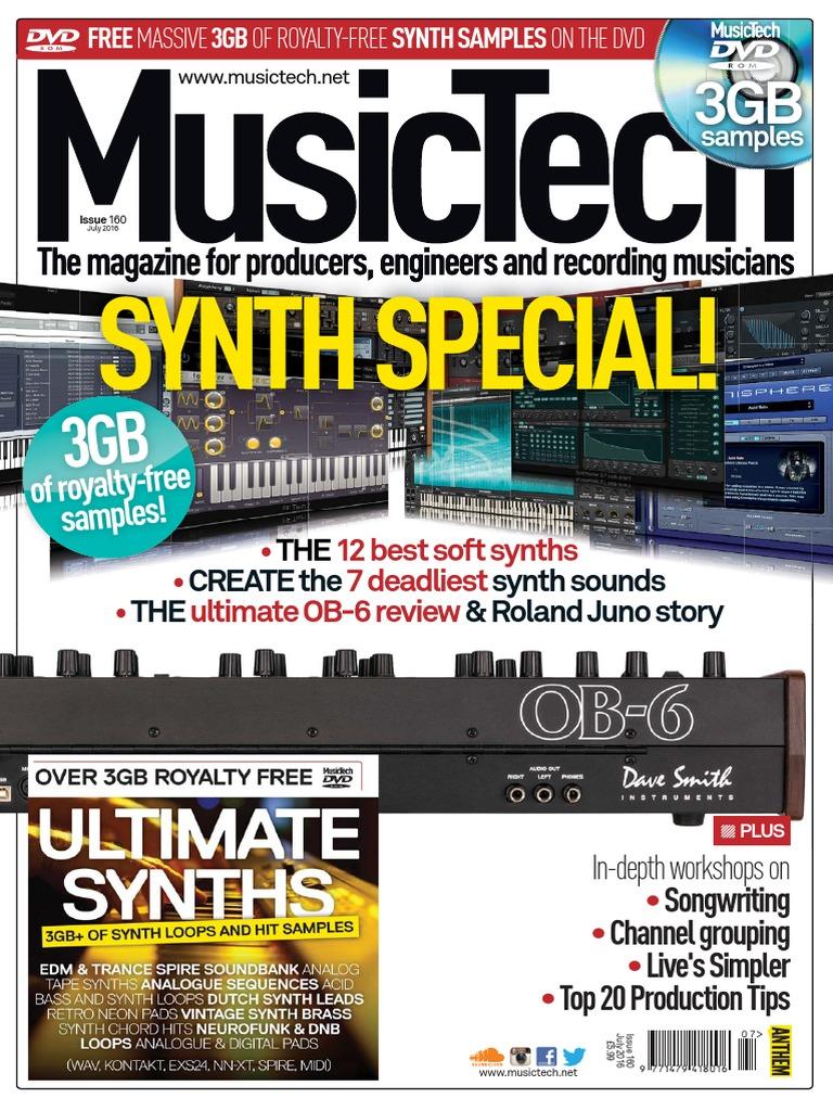 MusTe0716   Synthesizer   Sound Technology