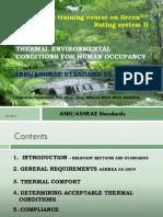 Thermal Environmental Conditions-Prof.leelananda Rajapaksha