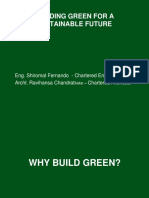 Presentation - Building Green for a Systainable Future2 - Shiromal Fernando
