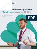 DS700-TES Inst-iPGCE Prospectus 2017-18 Web Ready