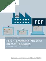 PCS7 Web Option V8.0 Mobile