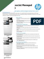 HP Color LaserJet Managed MFP E77830 Data Sheet