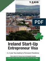 Y-Axis Registered Migration Agent Melbourne-(Ireland Start Up Entrepreneur Visa)