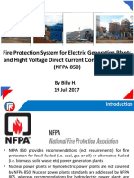 Fire Protection System NFPA 850 Presentation