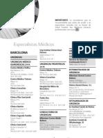 GUIAS MEDICAS Sanitas Barcelona