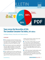 Canadian Consumer Tax Index 2017