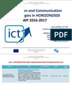 Information and Communication Technologies APELURI 2016-2017
