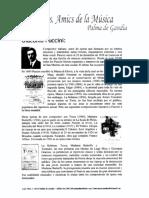 Adiós a la vida - G. Puccini