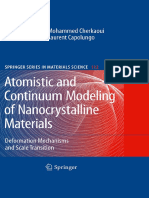 Atomistic Continumm Modelling Nanocrystalline Materials
