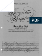 Michael Sull - Spencerian Script Practice Set