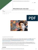 Governo Dilma Tem 3º Pior PIB Da História Do País, Mostra Estudo _ VEJAç