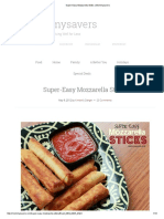 Super-Easy Mozzarella Sticks _ Mommysavers