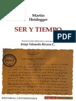 Heidegger Ser y tiempo Rivera completa.pdf