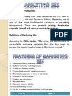 Marketing Mix Presentation