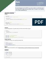 Kotlin Cheat Sheet 1p - By Ekito 1.2