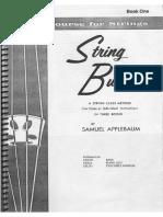 Samuel Applebaum - Belwin Course for Strings - String Builder - Violin Book 01 - VL