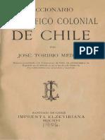 Medina Jose t Diccionario Biografico