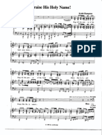 Praise His Holy Name - Music Sheet.pdf
