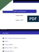 Talk 2.2 - Timothy Porter