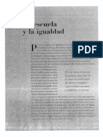 DOSSIER - La Escuela y La Igualdad