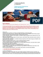 Escola Dominical Jesus e Nicodemos