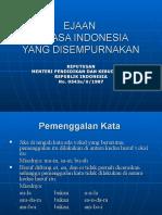 Pedoman Eyd Bahasa Indonesia