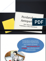 REFERAT OBSTETRI - PERDARAHAN ANTEPARTUM.pptx