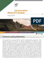 IntersectENT_Company Presentation Aug 2017 - Final