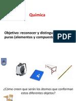 Elementos y Compuestos - Química - 7mo