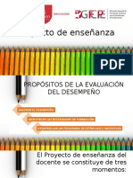 Proyecto de enseñanza