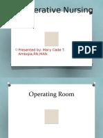 Perioperative Nursing 2